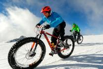 Fat bike à Val Thorens
