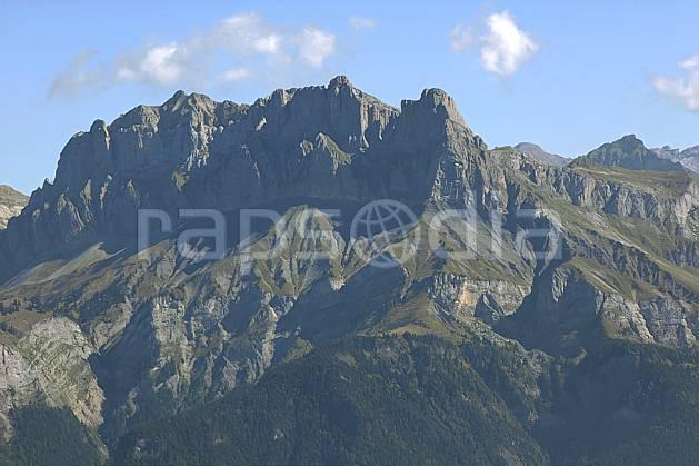 aa055790LE : Tête du Colonney et Aiguille de Varan depuis Croisse Baulet, Haute-Savoie, Alpes.  Europe, CEE, chaine de montagnes, C02, C01 moyenne montagne, paysage, Annecy 2018 (France).