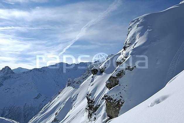 aa060555LE : Les Arcs, Savoie, Alpes.  Europe, CEE, C02, C01 moyenne montagne, paysage (France).