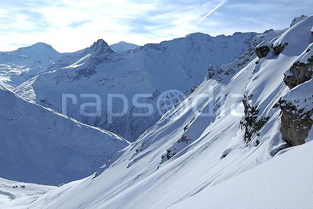 aa060556LE : Les Arcs, Savoie, Alpes.  Europe, CEE, C02, C01 moyenne montagne, paysage (France).
