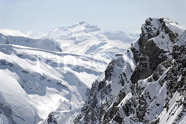 aa061064LE : Depuis Avoriaz, Désert de Platé et station de ski de Flaine, Massif du Mont Blanc, Haute-Savoie, Alpes.  Europe, CEE, C02, C01, falaise, vallée moyenne montagne, paysage, Annecy 2018 (France).