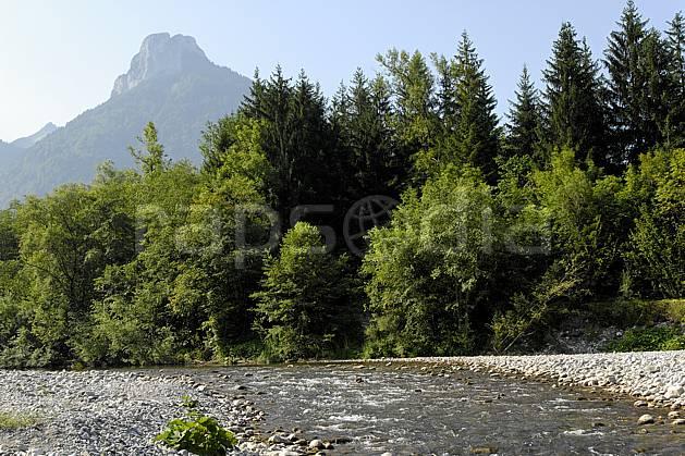aa062950LE : Bords du Fier et Dents de Lanfon, Haute-Savoie, Alpes.  Europe, CEE, C02, C01 arbre, forêt, moyenne montagne, paysage, rivière, Annecy 2018 (France).