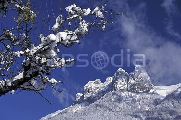 aa0696-01LE : Les Dents de Lanfon, Haute-Savoie, Alpes.  Europe, CEE, ciel bleu, C02, C01, branche, poudreuse arbre, forêt, moyenne montagne, paysage, Annecy 2018 (France).