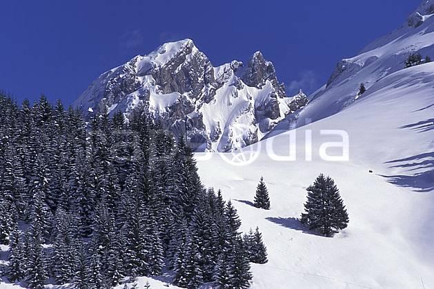 aa0725-26LE : Massif des Aravis, Haute-Savoie, Alpes.  Europe, CEE, ciel bleu, sapin, C02, C01 arbre, forêt, moyenne montagne, paysage, Annecy 2018 (France).