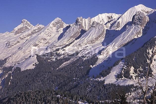aa2104-35LE : Chaine des Aravis versant nord/ouest, Haute-Savoie, Alpes.  Europe, CEE, ciel bleu, sapin, C02, C01 arbre, forêt, moyenne montagne, paysage, Annecy 2018 (France).