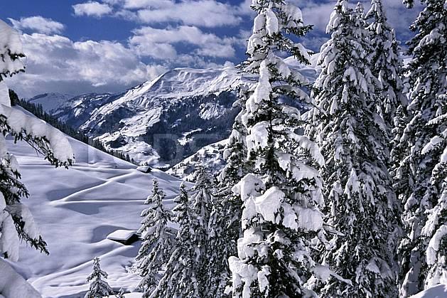 aa2410-22LE : Les Contamines, Haute-Savoie, Alpes.  Europe, CEE, ciel nuageux, C02, C01 arbre, moyenne montagne, paysage, Annecy 2018 (France).