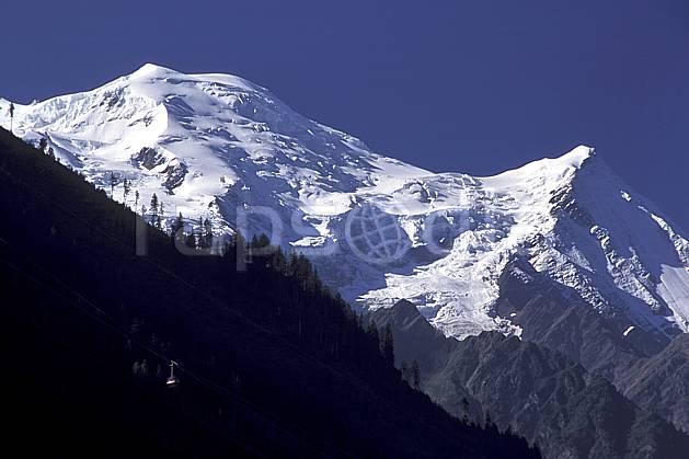 aa2502-01LE : Massif du Mont Blanc, Chamonix, Haute-Savoie, Alpes.  Europe, CEE, ciel bleu, glacier, C02, C01 moyenne montagne, paysage, Annecy 2018 (France).
