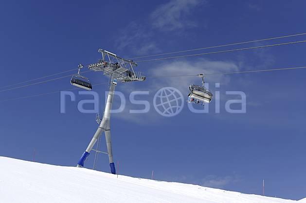 ae070375LE : Remontées mécaniques et télésiège à Zermatt, Alpes. ski de piste Europe, sport, loisir, action, glisse, sport de montagne, sport d'hiver, ski, piste de ski, C02 environnement, moyenne montagne (Suisse).