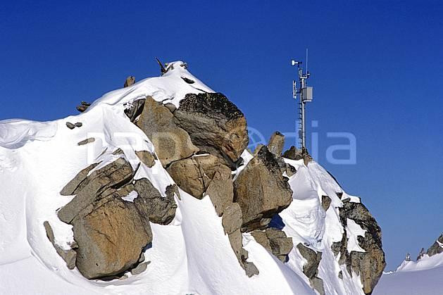 ae2749-14LE : Balise météo.  Europe, CEE, ciel bleu, C02, C01 environnement, moyenne montagne (France).