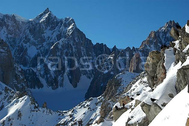 ba050864LE : Col Maudit, Pointe de l'Androsace et Mont Maudit, Massif du Mont Blanc, Alpes.  Europe, CEE, panorama, chaine de montagnes, falaise, mur, pic, C02, C01 haute montagne (Italie).