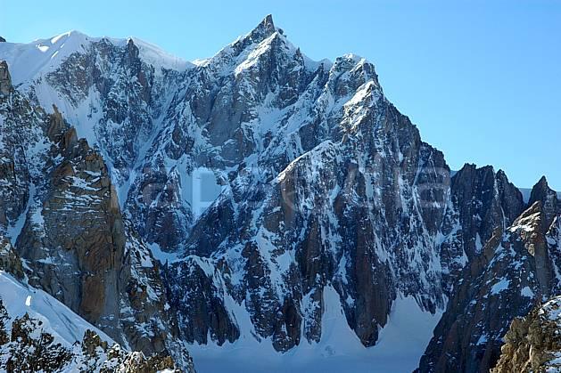 ba050866LE : Pointe de l'Androsace et Mont Maudit, Massif du Mont Blanc, Alpes.  Europe, CEE, panorama, chaine de montagnes, falaise, mur, pic, C02, C01 haute montagne (Italie).