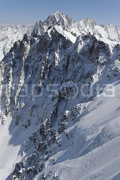 ba061186LE : Depuis l'Aiguille du Midi, aiguille et col du Plan, aiguille Verte, les Droites, Massif du Mont Blanc, Haute-Savoie, Alpes.  Europe, CEE, chaine de montagnes, panorama, C02, C01 haute montagne, paysage, Annecy 2018 (France).