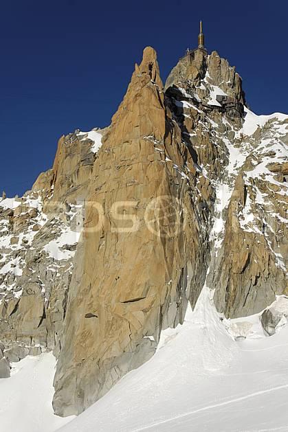 ba063605LE : Face Sud de l'Aiguille du Midi, Massif du Mont Blanc, Haute-Savoie, Alpes. escalade Europe, CEE, sport, loisir, sport extrême, action, sport de montagne, falaise, pic, C02, C01 haute montagne, paysage, Annecy 2018 (France).