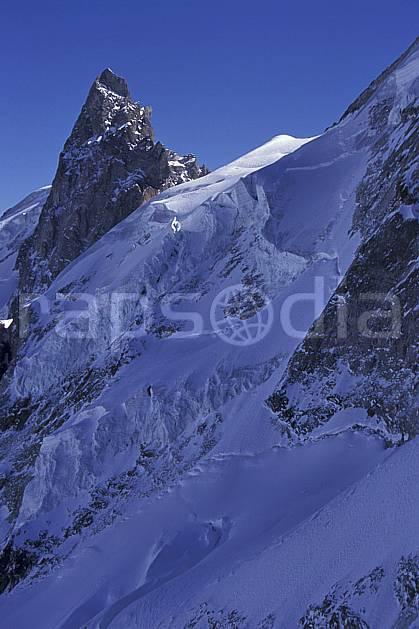 ba0919-17LE : La Meije, le Rateau, Oisans, Alpes.  Europe, CEE, ciel bleu, glacier, pic, C02, C01 haute montagne, paysage (France).