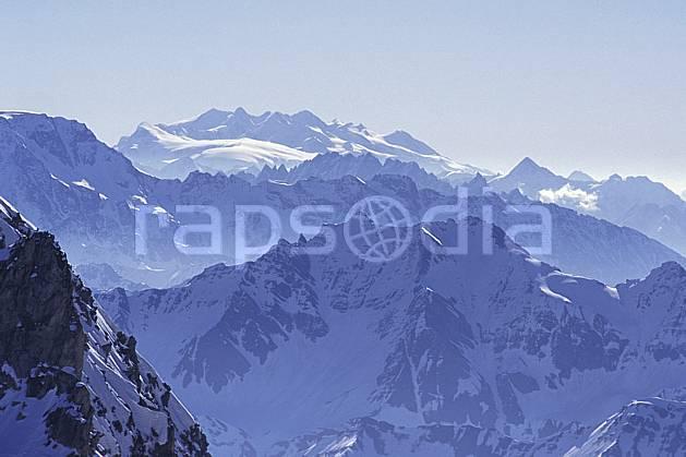 ba0960-04LE : Mont Rose, Alpes.  Europe, brouillard, panorama, C02, C01 haute montagne, paysage (Italie Suisse).