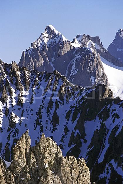 ba0978-06LE : Les Ecrins, Oisans, Alpes.  Europe, CEE, ciel bleu, falaise, C02, C01 haute montagne, paysage (France).