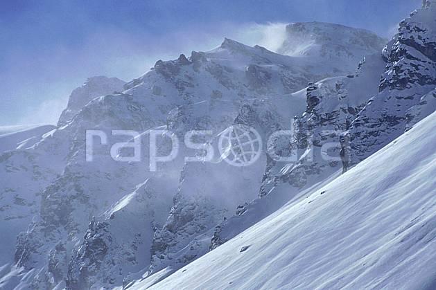 ba1079-14LE : Les Alpes, Savoie, Alpes.  Europe, CEE, falaise, vent, C02, C01 haute montagne, paysage (France).