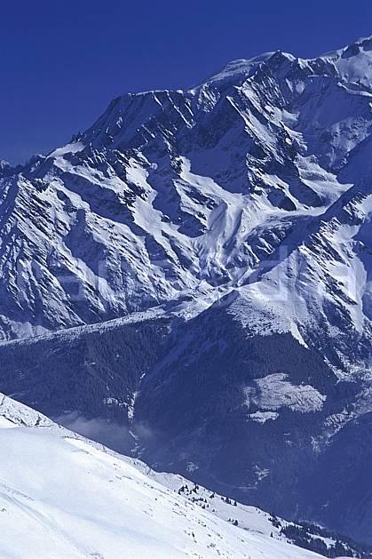 ba2026-30LE : Massif du Mont Blanc, Haute-Savoie, Alpes.  Europe, CEE, ciel bleu, C02, C01 haute montagne, paysage, Annecy 2018 (France).