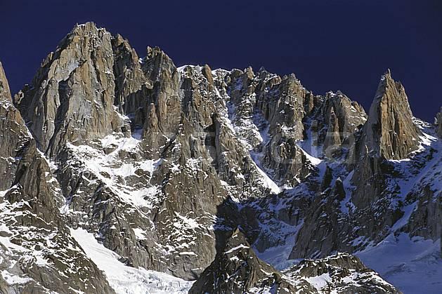 ba2819-18LE : Aiguille Verte, Charpoua, Aiguille du Moine, Massif du Mont Blanc, Haute-Savoie, Alpes.  Europe, CEE, arête, ciel bleu, falaise, C02, C01 haute montagne, paysage, Annecy 2018 (France).