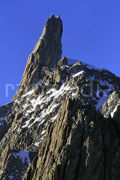 ba2885-01LE : Dent du Géant, Massif du Mont Blanc, Haute-Savoie, Alpes.  Europe, CEE, ciel bleu, falaise, pic, pic, C02, C01 haute montagne, paysage, Annecy 2018 (France).
