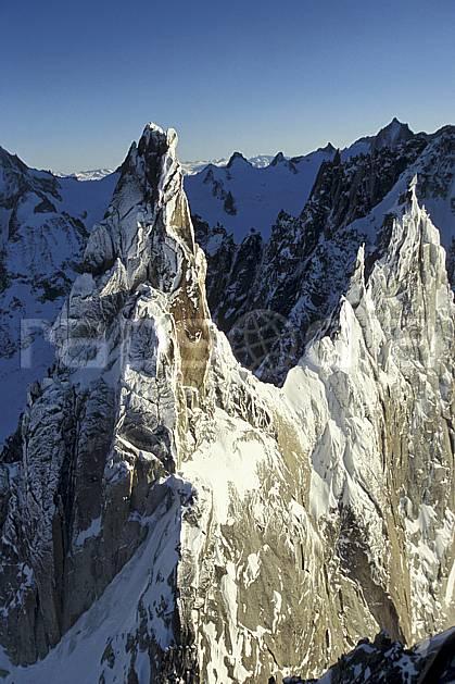 ba3209-12LE : Aiguille du Fou, Massif du Mont Blanc, Haute-Savoie, Alpes.  Europe, CEE, falaise, pic, arête, C02, C01 haute montagne, paysage, Annecy 2018 (France).