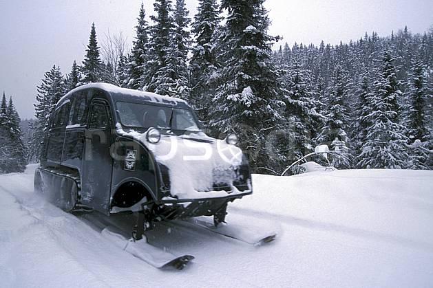 Autoneige stock photo : north america, america, sport, leisure, action