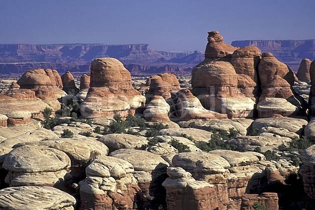 ea0653-22LE : Canyonland, Arizona, Utha.  Amérique du nord, ciel bleu, évasion, espace, parc américain, pureté, érosion, C02, C01 paysage, voyage aventure (Usa).