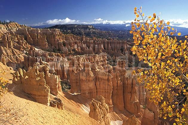 ea0662-07LE : Bryce Canyon, Utah.  Amérique du nord, pic, ciel bleu, parc américain, érosion, C02, C01 paysage, voyage aventure (Usa).