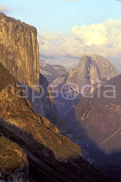 ea0668-20LE : Yosemite National Park, California.  Amérique du nord, ciel nuageux, falaise, parc américain, C02, C01 paysage, voyage aventure (Usa).