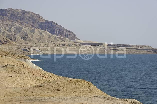 ea070712LE : Bord de la Mer Morte.  Moyen Orient, sel, C02 désert, mer, moyenne montagne, paysage, voyage aventure (Jordanie).