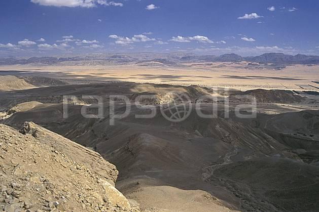 ea1139-22LE : Désert du Negev.  Proche Orient, ciel nuageux, évasion, espace, pureté, C02, C01 désert, paysage, voyage aventure (Israël).