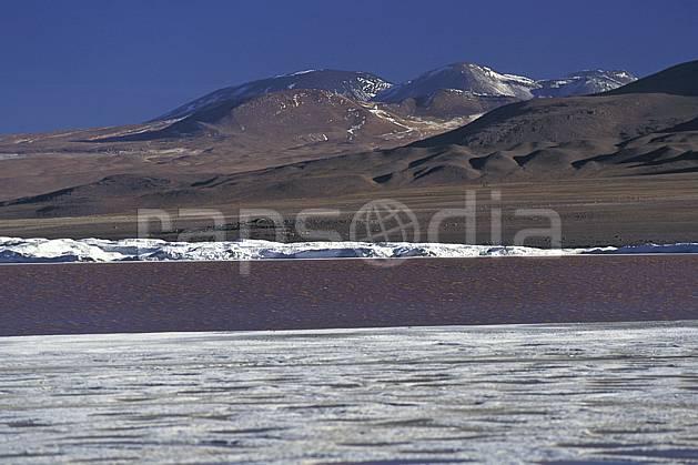 ea1223-12LE : Sud Lipez.  Amérique du sud, Amérique Latine, Amérique, ciel bleu, désert de sel, laguna, lagune, C02, C01 désert, lac, paysage, voyage aventure (Bolivie).