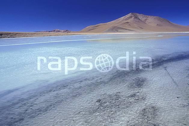 ea1225-07LE : Sud Lipez.  Amérique du sud, Amérique Latine, Amérique, ciel bleu, laguna, lagune, C02, C01 désert, lac, paysage, voyage aventure (Bolivie).