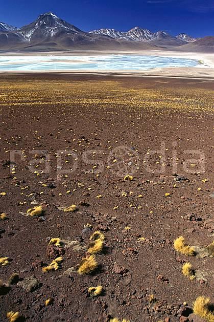 ea1226-01LE : Sud Lipez, Laguna Verde.  Amérique du sud, Amérique Latine, Amérique, ciel bleu, laguna, lagune, C02, C01 désert, lac, paysage, voyage aventure (Bolivie).