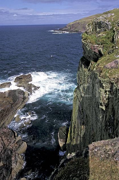 ea2065-27LE : Highlands, Point of Stoer, Ecosse.  Europe, CEE, littoral, ciel nuageux, falaise, écosse, C02, C01 mer, paysage, voyage aventure (Royaume-Uni).