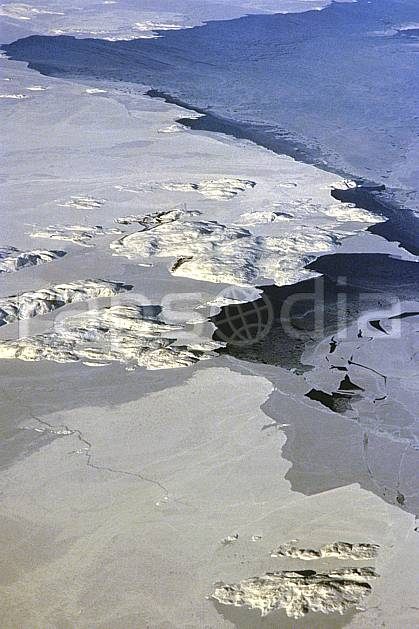 ea2603-06LE : Colombie Britannique.  Amérique du nord, Amérique, banquise, vue aérienne, C02, C01 paysage, voyage aventure (Canada).
