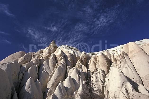 ea2656-36LE : Anatolie Centrale, Cappadoce.  Europe, ciel bleu, érosion, C02, C01 paysage, voyage aventure (Turquie).