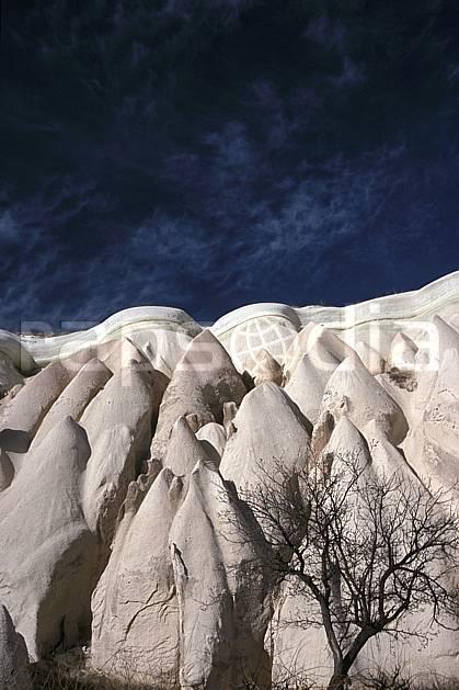 ea2656-37LE : Anatolie Centrale, Cappadoce.  Europe, ciel bleu, érosion, C02, C01 paysage, voyage aventure (Turquie).