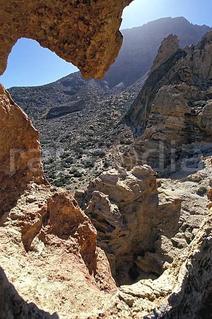 ea2681-05LE : Tenerife, Iles Canaries.  Europe, CEE, ciel bleu, C02, C01 désert, paysage, voyage aventure (Canaries).