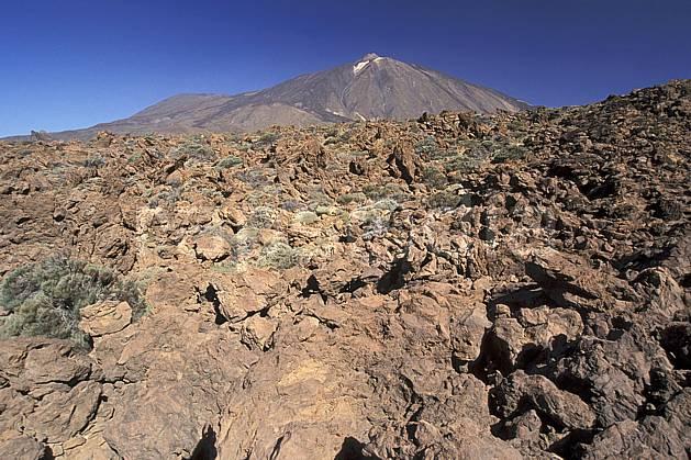 ea2681-08LE : Tenerife, Iles Canaries.  Europe, CEE, ciel bleu, C02, C01 désert, paysage, voyage aventure (Canaries).