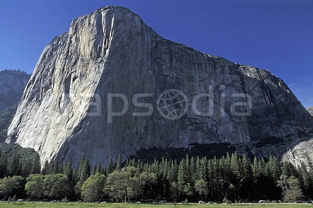 ea2877-27LE : Yosemite, Californie.  Amérique du nord, ciel bleu, falaise, parc américain, C02, C01 paysage, voyage aventure (Usa).