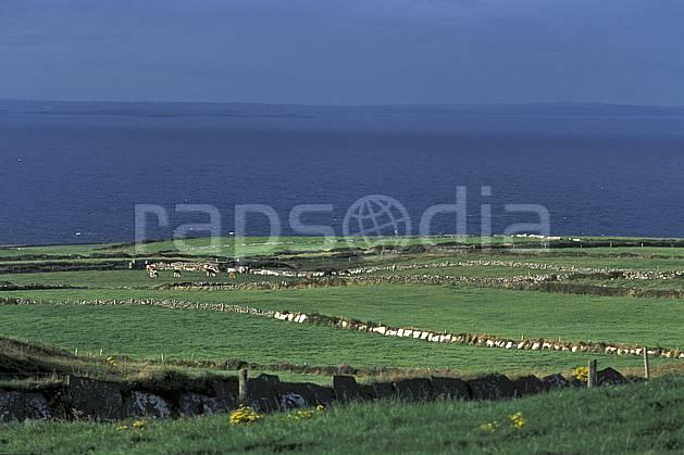 ea3178-27LE : Paysage d'Irlande.  Europe, CEE, C02, C01 mer, paysage, voyage aventure (Irlande).