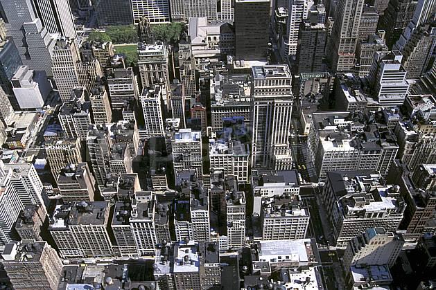 ee0634-06LE : Manhattan, Ville de New York.  Amérique du nord, building, immeuble, vue aérienne, C02, C01 environnement, habitation, voyage aventure (Usa).