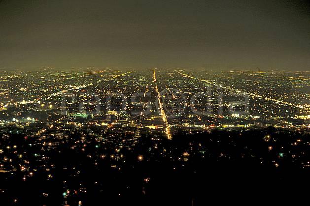 ee0644-35LE : Ville de Los Angeles depuis l'observatoire, California.  Amérique du nord, évasion, lumière, nuit, C02, C01 environnement, habitation, voyage aventure (Usa).