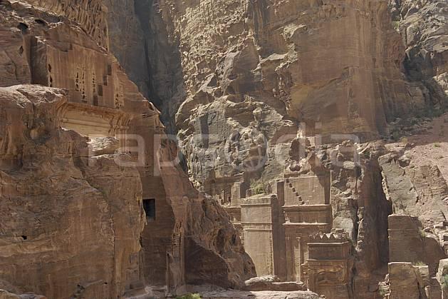 ee071009LE : Site de Petra.  Moyen Orient, site, archéologique, C02 désert, environnement, patrimoine, paysage, voyage aventure (Jordanie).