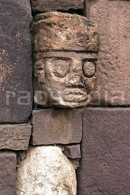 ee1206-18LE : Mur pré-Inca.  Amérique du sud, Amérique Latine, folklore, sculpture, tradition, C02, C01 environnement, patrimoine, voyage aventure (Pérou).
