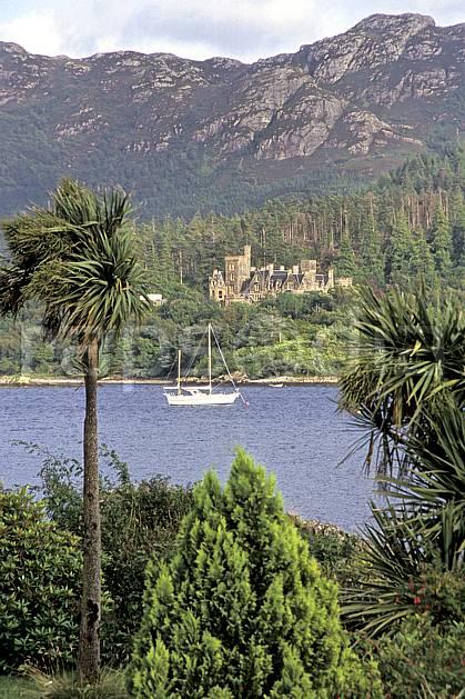 ee2064-07LE : Plokton, Highlands, Highlands, Ecosse.  Europe, CEE, littoral, château, écosse, C02, C01 arbre, environnement, mer, patrimoine, paysage, voyage aventure (Royaume-Uni).