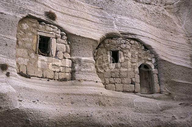 ee2644-06LE : Anatolie Centrale, Cappadoce.  Europe, ruine, C02, C01 environnement, habitation, patrimoine, voyage aventure (Turquie).