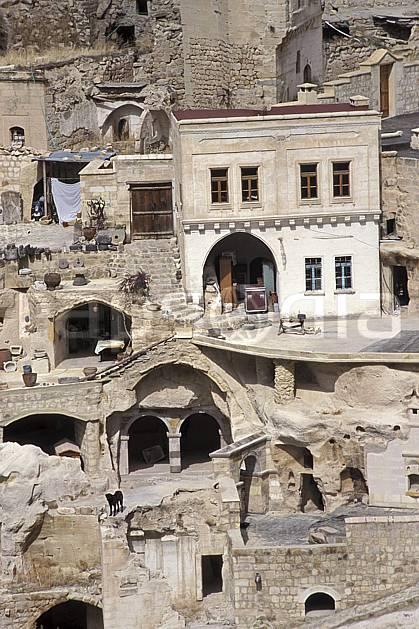 ee2648-35LE : Anatolie Centrale, Cappadoce.  Europe, folklore, tradition, C02, C01 environnement, habitation, patrimoine, voyage aventure (Turquie).