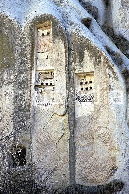 ee2650-34LE : Anatolie Centrale, Cappadoce.  Europe, folklore, habitation, temple, tradition, C02, C01 environnement, patrimoine, voyage aventure (Turquie).